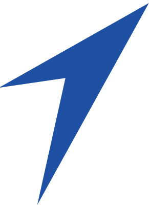 blue logo mark